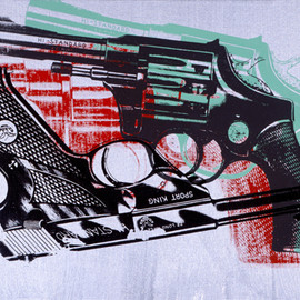 Andy Warhol -  Guns, 1981-1982