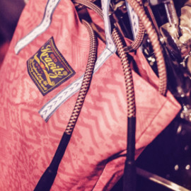 bluespot - 【KRAVITZ】Ethnic Pattern Eco Bag(PINK)