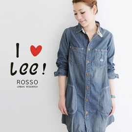 ROSSO - ROSSO×LEE 別注ワークワンピース