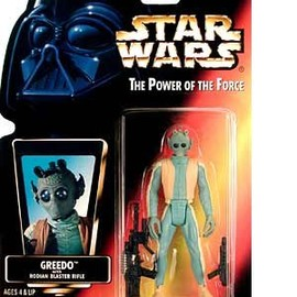 kenner - STAR WARS: Power of the Force Red Card > Greedo Action Figure