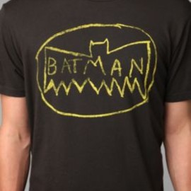 urban outfitters - Junk Food Messy Batman Logo Tee