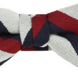 green label relaxing - KIDS tricolor bowtie
