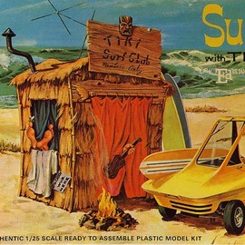 Revell - Ed Roth Surfite with TIKI HUT