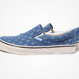 VANS, BEAUTY&YOUTH UNITED ARROWS - Classic Slip-on (Blue)