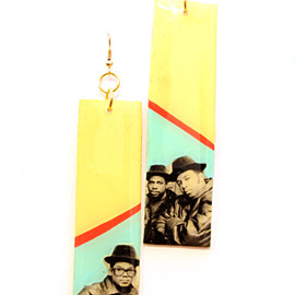 Miss Wax - RUN DMC Earrings