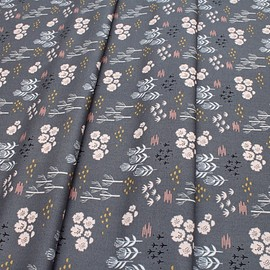 Dashwood Studio - Dovestone DOVE 1361 Floral on Grey