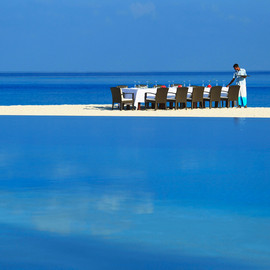 Velassru Resort, Maldives - Private Beach Dining