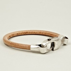 Maison Martin Margiela 11 - Brass and Leather Bracelet