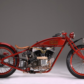 Board Track Bike 1915 By Craig Kitzmann
