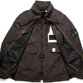 STONE ISLAND SHADOW PROJECT - WEATHERPROOF WOOL STEALTH JACKET