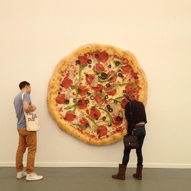 Tom Friedman - the Giant Pizza Sculpture
