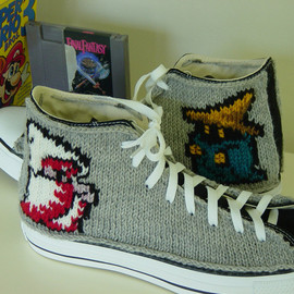 Converse, SQUARE ENIX - All-Stars Final Fantasy Knit Chucks