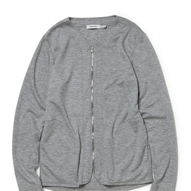 nonnative - OFFICER CARDIGAN W/A STRETCH JERSEY