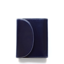 Whitehouse Cox - S1058 SMALL 3FOLD WALLET/Navy