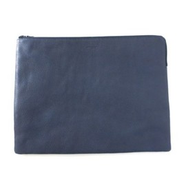 ATTACHMENT - NAVY clutch bag