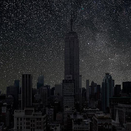 THIERRY COHEN - Darkened Cities / New York City