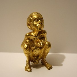 BEEJOIR - L.V. Child Sculpture GOLD  000/100