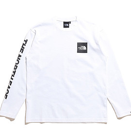 THE NORTH FACE - L/S Square Logo Tee-W