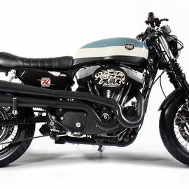 CRD (Cafe Racer Dreams) - HARLEY-DAVIDS xl1200 nighster  CRD#21 the stroke