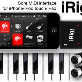 IK Multimedia - iRig MIDI - Core MIDI interface for iPhone/iPod touch/iPad