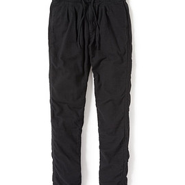 nonnative - FARMER EASY PANTS RELAX FIT C/W TWILL OVERDYED