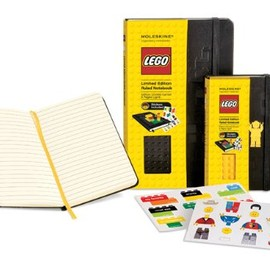 MOLESKINE - Lego Black Brick Ruled Large Black: Limited Edition (Moleskine Cover Art)