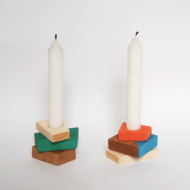 Beatriz Nuño - Pile candle holder