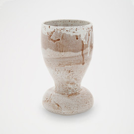 Adam Silverman - Spotted White 9.26 Vase