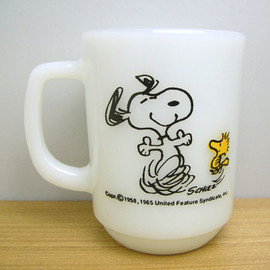 Fire King - Snoopy Joy mug cup