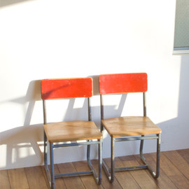 RECTOHALL - Mini Chair Red (France)