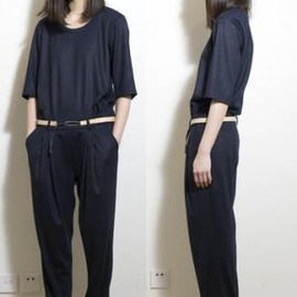 ffiXXed - Wool Jumo Suits (Dark Navy)