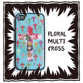 MOG NIPPON - iphone case †♡† floral multi cross