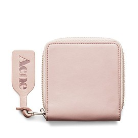 Acne - Minimal + Classic: Amber Nappa Lilac Wallet