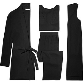Skin - Stretch cotton and modal-blend travel set