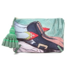 ANYA HINDMARCH - Multicolor Courtney Valentine Clutch