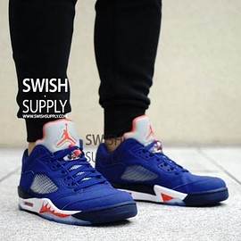 NIKE - NIKE AIR JORDAN 5 RETRO LOW KNICKS