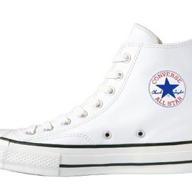 CONVERSE - ADDICT CHUCK TAYLOR LEATHER HI WHITE