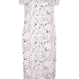 Christophe Lemaire - speckled t-shirt dress