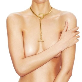 TOM FORD - Lariat Chain Necklace 18K Gold