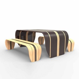 Duffy London - Surf-ace Table and Bench