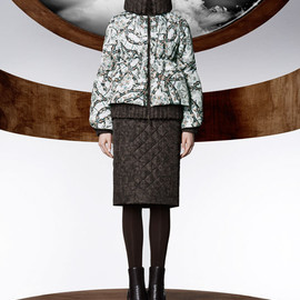 MONCLER M(collaboration with Mary Katrantzou) - FW2013 Fiest Barbed Wire Down Jacket