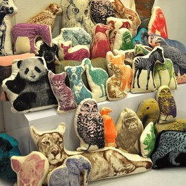 SALVOR FAUNA - ANIMAL PILLOWS