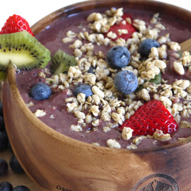 Berry-Kiwi Acai Bowl