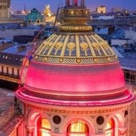 Paris, France - PINK: Lighted dome