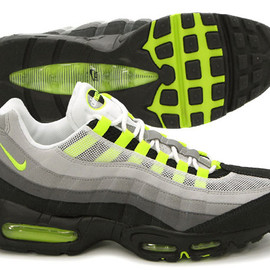 NIKE - Air Max 95 Yellow/Grey