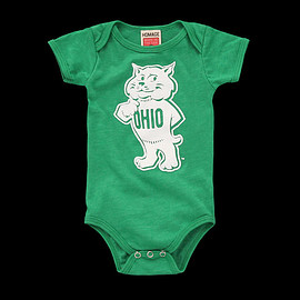 HOMAGE - Rufus the Bobcat Baby One Piece