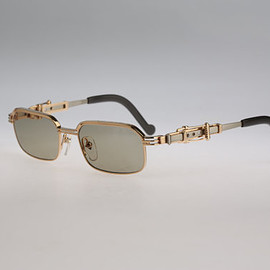 Jean Paul Gaultier - Gold vintage sunglasses
