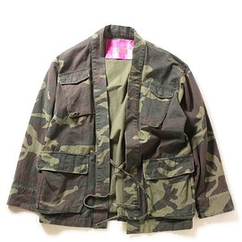 UNITED ARROWS & SONS - CAMO TOMMY SHIRT