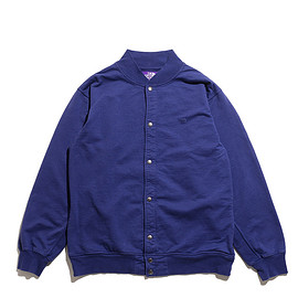 THE NORTH FACE PURPLE LABEL - 10oz Mountain Snap Cardigan-Royal Navy