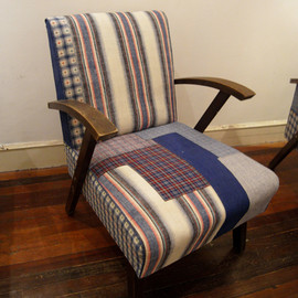 Brut Cake - Recycled fabric chair